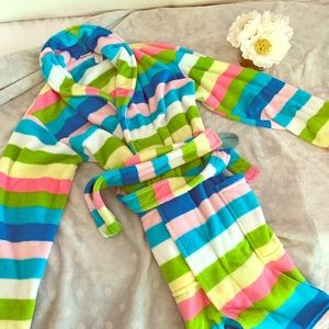 IEUC Adonna Rainbow 🌈 striped Robe